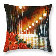 After Rain Throw Pillow