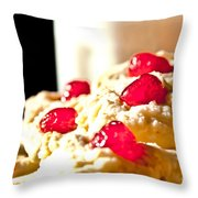 After School Snack Throw Pillow