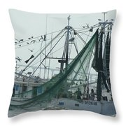 After The Catch Throw Pillow