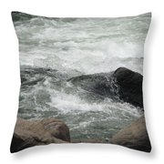 After The Falls Throw Pillow