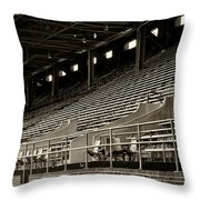 After The Game - Franklin Field Philadelphia Throw Pillow