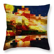 After The Icebergs Melt Throw Pillow