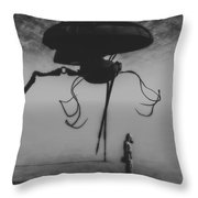 After The Invasion Throw Pillow