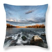 After The Rain - Square Throw Pillow