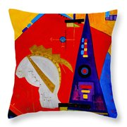 After The  Romans Throw Pillow