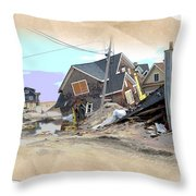 After The Storm 3 Throw Pillow