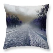 After The Storm Throw Pillow