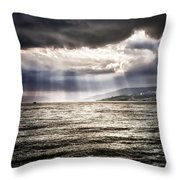After The Storm Sea Of Galilee Israel Throw Pillow