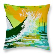 After The Wake Throw Pillow