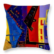 After Them ... Throw Pillow