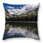 Afternoon At Dorothy Lake Throw Pillow