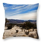 Afternoon At Red Rock Throw Pillow