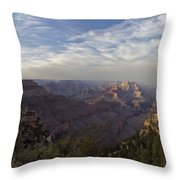 Afternoon At The Canyon Throw Pillow
