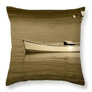Afternoon Calm Throw Pillow