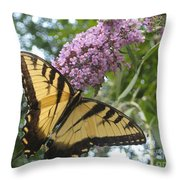 Afternoon Flight Throw Pillow