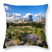 Afternoon In Austin Throw Pillow