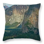 Afternoon In Yosemite Throw Pillow
