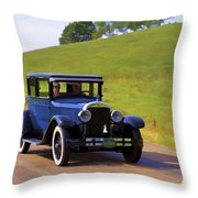 Afternoon Outing Throw Pillow