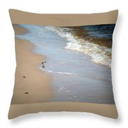 Afternoon Stroll Throw Pillow
