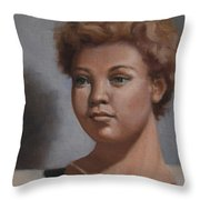 Afternoon Study Throw Pillow