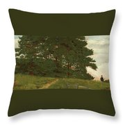 Afternoon  Wootton Throw Pillow