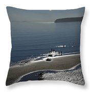 Against The Light - Compton Bay Throw Pillow