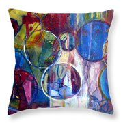 Against The Rain II Throw Pillow