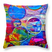 Against The Rain Vertical Throw Pillow