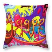 Agape Throw Pillow
