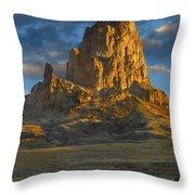 Agathla Peak Monument Valley Throw Pillow