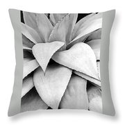 Agave Detail Throw Pillow