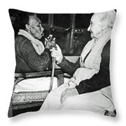 Age Makes Philosophers Of All Throw Pillow