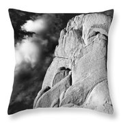 Age Of Silence Throw Pillow