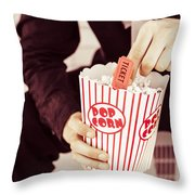 Age Of The Classic Movie Throw Pillow