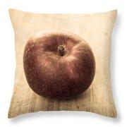 Aged Apple Throw Pillow