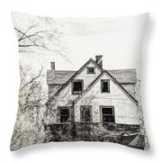 Aged Beyond Repair Throw Pillow