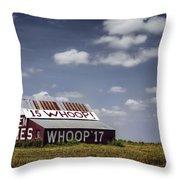 Aggie Barn Throw Pillow