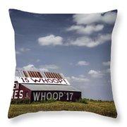Aggie Barn Throw Pillow