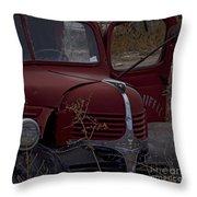 Aging Dodge   #3514 Throw Pillow