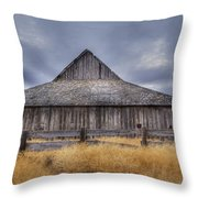 Aging Gracefully In Wasco County Throw Pillow