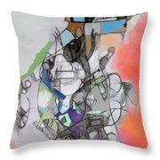 Self-renewal 10d Throw Pillow