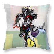 Self-renewal 12f Throw Pillow