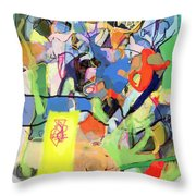 Self-renewal 15q Throw Pillow