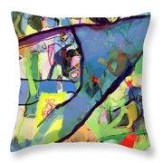 Self-renewal 15r Throw Pillow