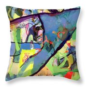 Self-renewal 15t Throw Pillow