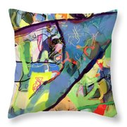 Self-renewal 15u Throw Pillow