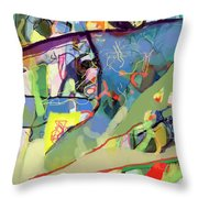 Self-renewal 15v Throw Pillow