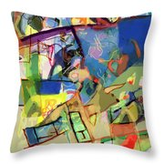 Self-renewal 15w Throw Pillow