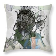 Self-renewal 16b Throw Pillow