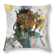 Self-renewal 16d Throw Pillow